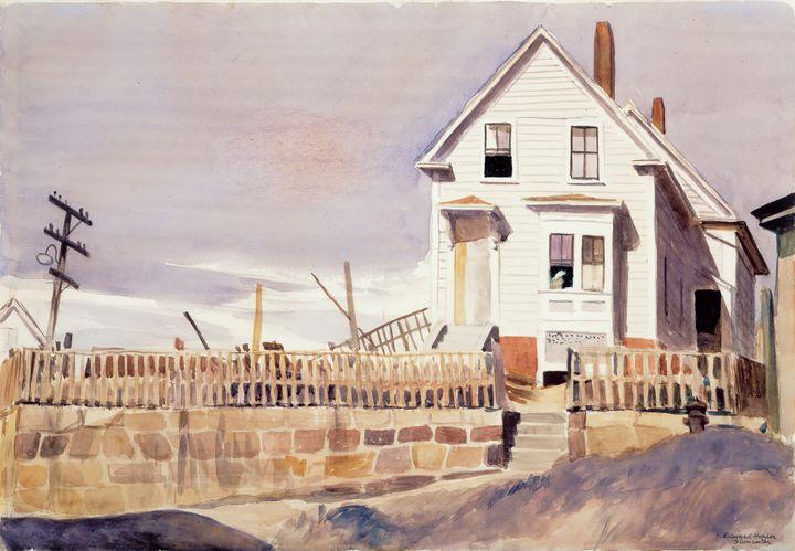 Edward Hopper~Tony's House - Artmaster