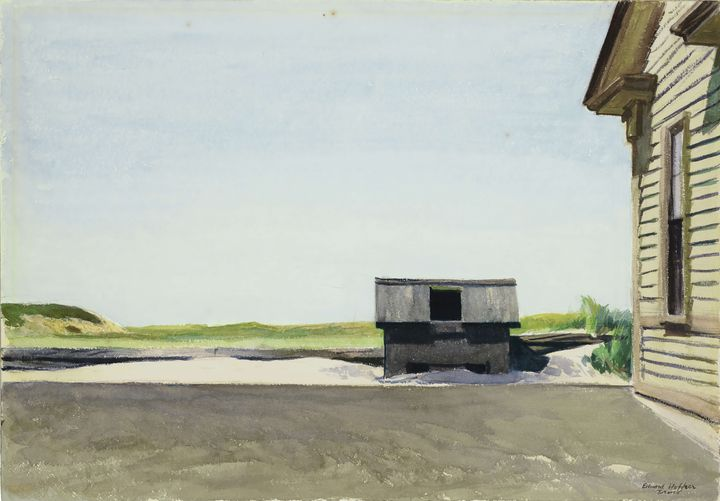 Edward Hopper~Truro Station Coal Box - Artmaster