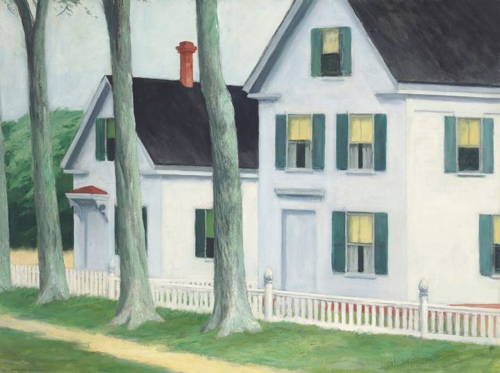 Edward Hopper~Two puritans - Artmaster