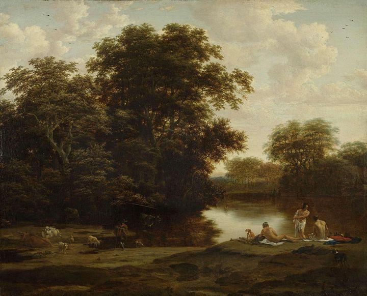 Joris van der Haagen~Landscape with - Artmaster