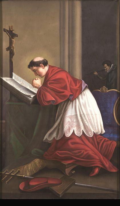 Josef Czauczik~Saint Charles Borrome - Artmaster