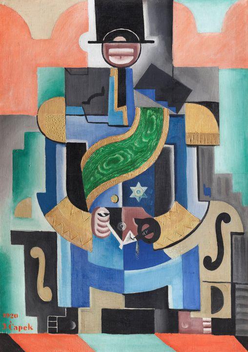 Josef Čapek~African King - Artmaster
