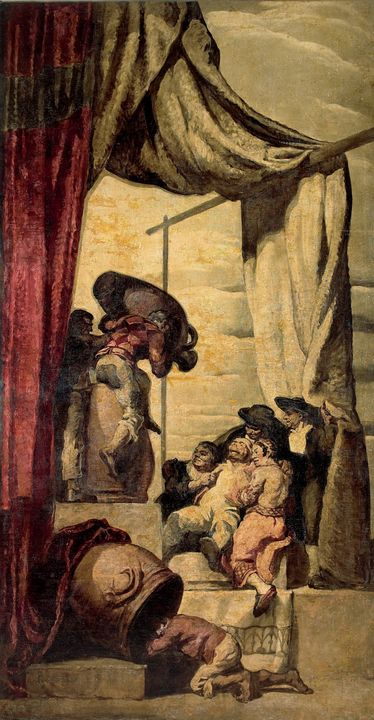 Josep Maria Sert~The Drunkards - Artmaster