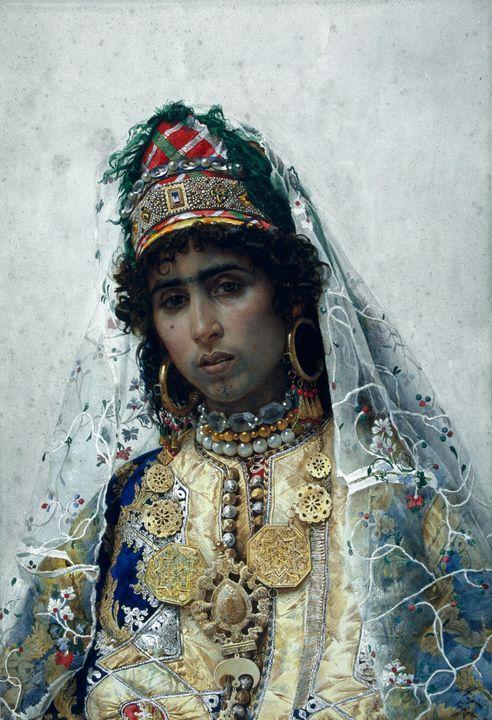 Josep Tapiró Baró~Berber Bride - Artmaster