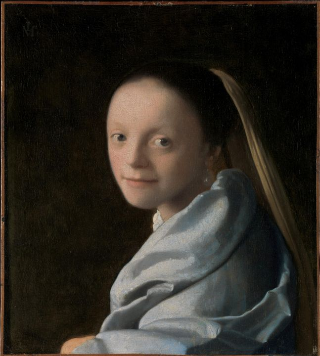 Johannes Vermeer~Study of a Young Wo - Artmaster