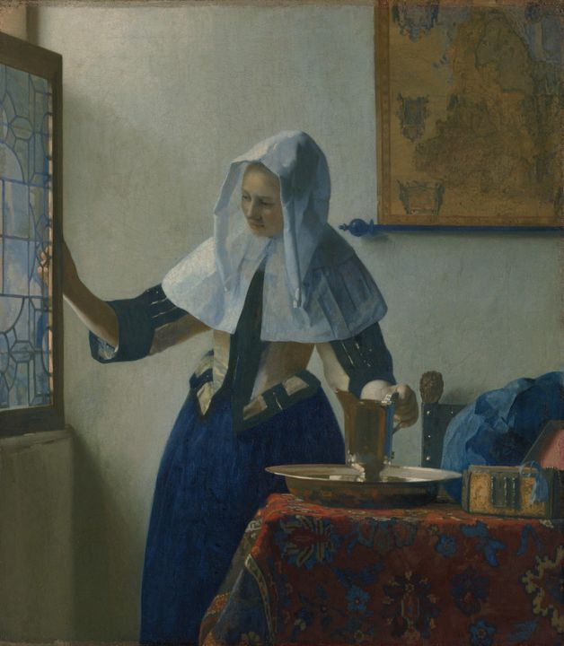 Johannes Vermeer~Young Woman with a - Artmaster