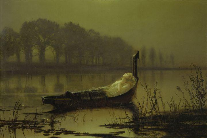 John Atkinson Grimshawca~The Lady of - Artmaster
