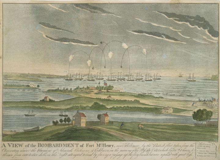 John Bower~A View of the Bombardment - Artmaster