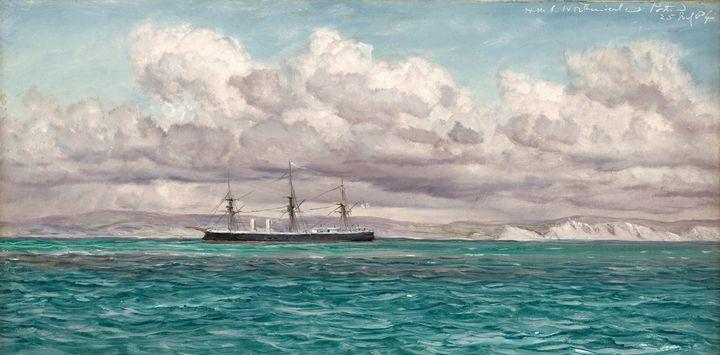 John Brett~HMS Northumberland - Artmaster