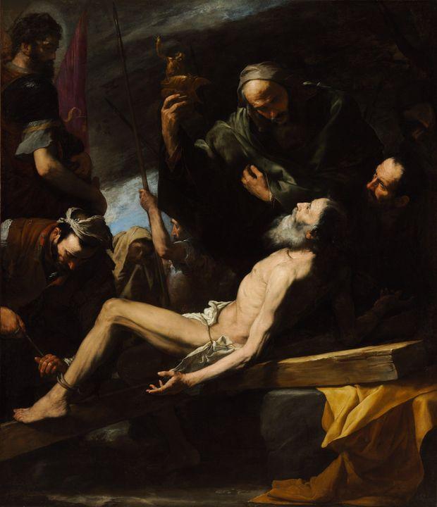 Juseppe de Ribera~The Martyrdom of S - Artmaster