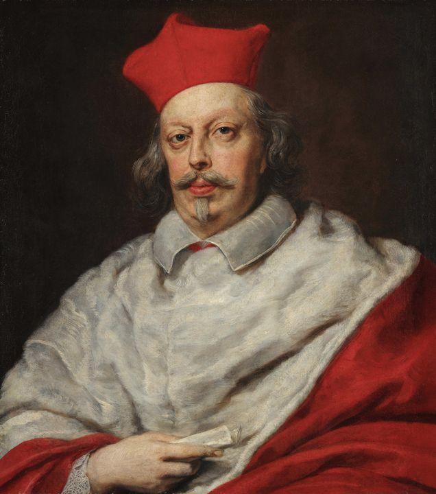 Justus Sustermans~Portrait of Cardin - Artmaster
