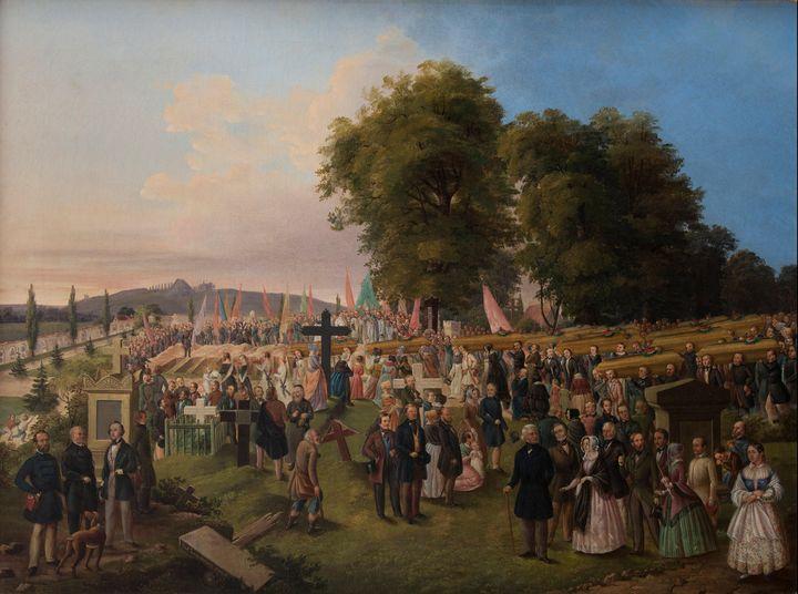 Józef Zajączkowski~Funeral of 1848 V - Artmaster