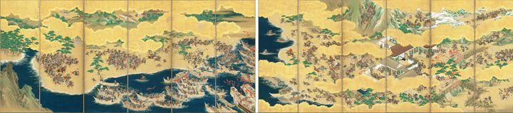 Kaiho Yusetsu~Folding Screen with De - Artmaster