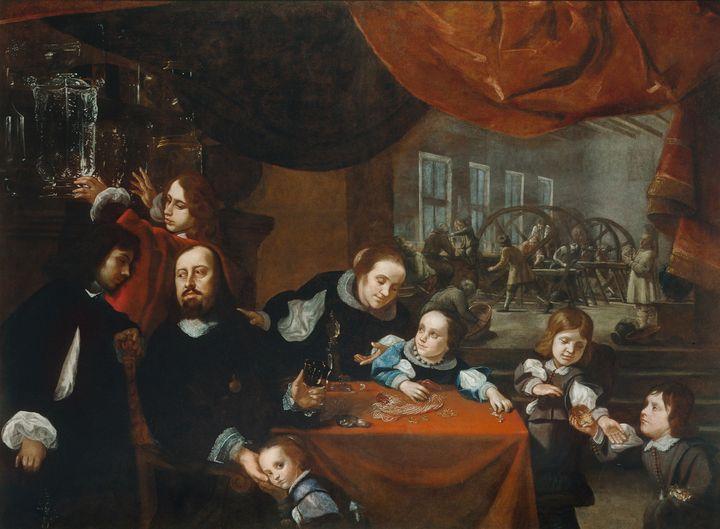 Karel Škréta~The Family of Precious - Artmaster