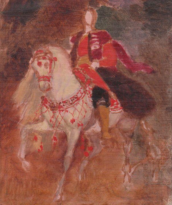Karl Bryullov~Portrait of Anataloy D - Artmaster