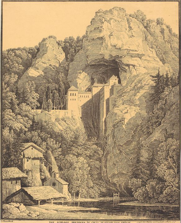Karl Friedrich Schinkel~Das Schloss - Artmaster