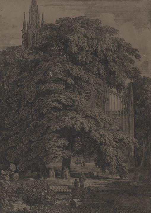 Karl Friedrich Schinkel~Gothic-style - Artmaster