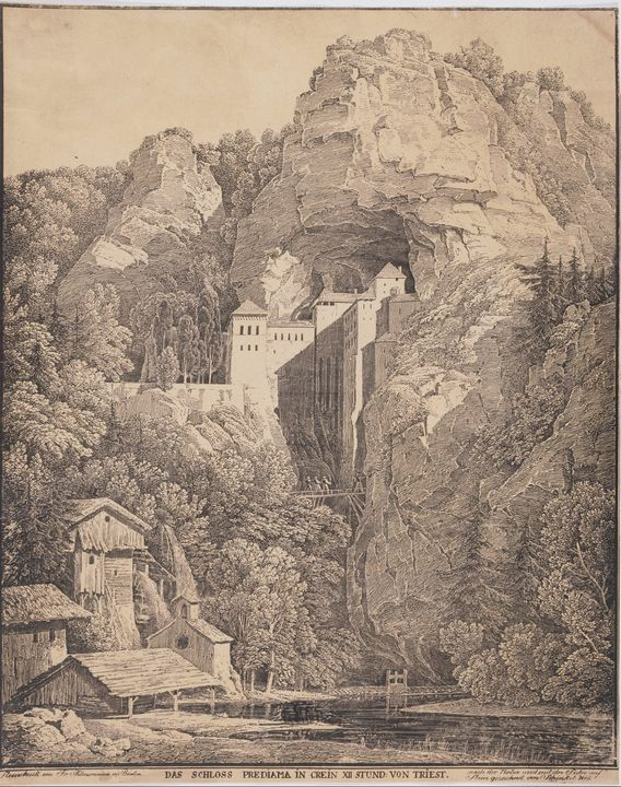 Karl Friedrich Schinkel~Predjama Cas - Artmaster