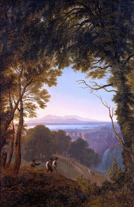 Karl Friedrich Schinkel~View of an I - Artmaster