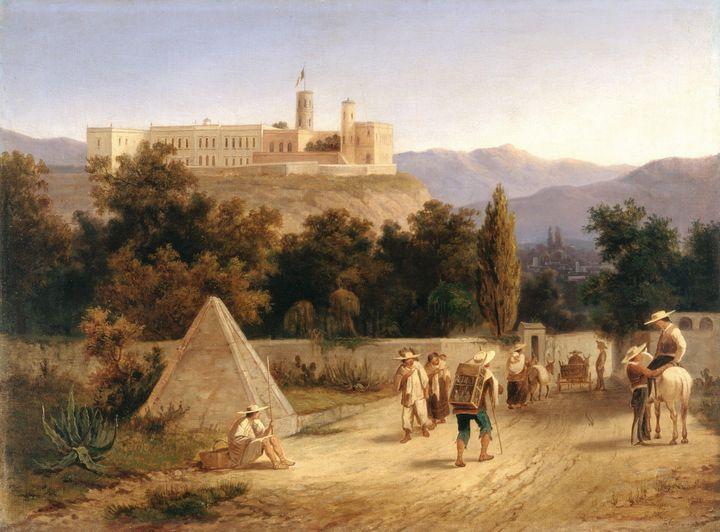 Karl Joseph Kuwasseg~Castillo de Cha - Artmaster