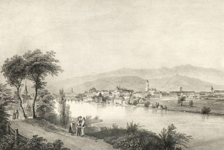Karl Joseph Kuwasseg~Veduta of Marib - Artmaster