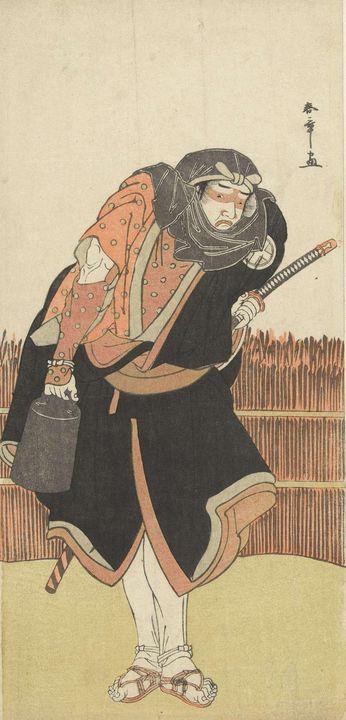 Katsukawa Shunshō~Acteur in de rol v - Artmaster