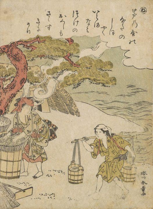 Katsukawa Shunshō~Episode eighty-sev - Artmaster