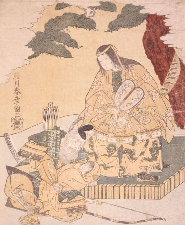 Katsukawa Shunshō~Jinger Kogo and Ch - Artmaster