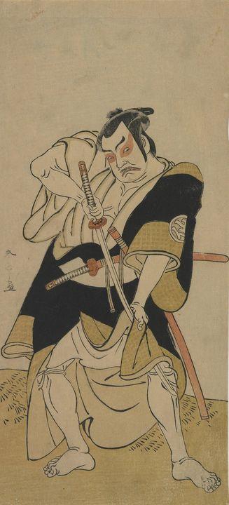 Katsukawa Shunshō~Kabuki Actor Nakam - Artmaster
