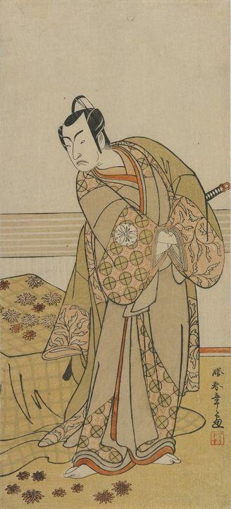 Katsukawa Shunshō~The Actor Matsumot - Artmaster