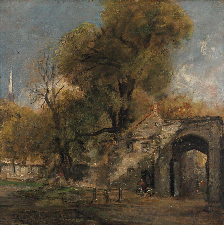 John Constable ~ Harnham Gate, Salis - Artmaster