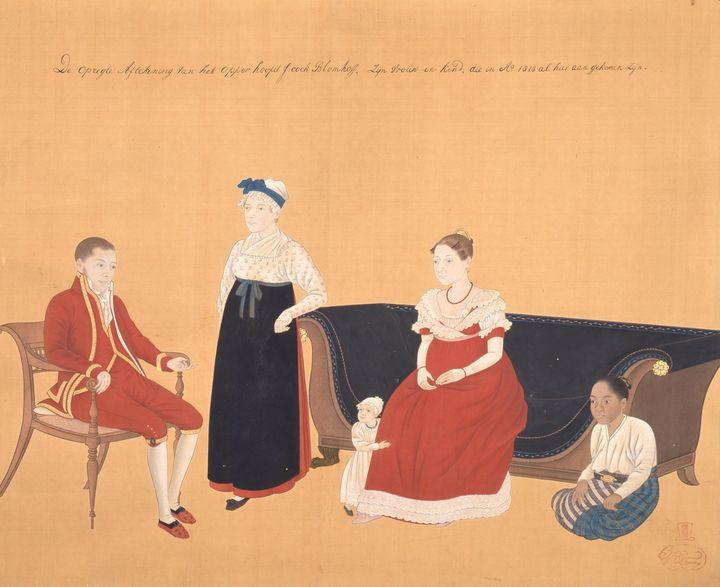 Kawahara Keiga~Jan Cock Blomhoff痴 Fa - Artmaster