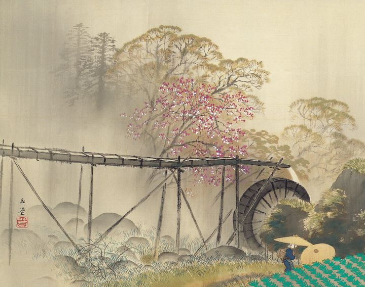 Kawai Gyokudō~Spring Drizzle - Artmaster