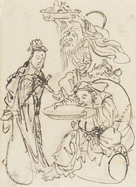 Kawanabe Kyōsai~Drawing from an albu - Artmaster