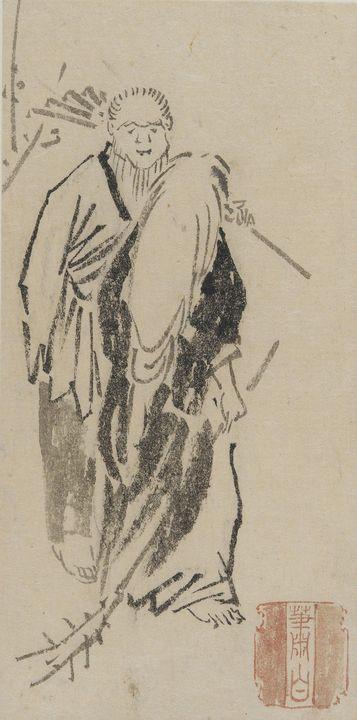 Kawanabe Kyōsai~Spirits of Takasago - Artmaster