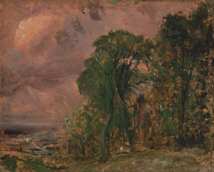 John Constable~A View at Hampstead w - Artmaster