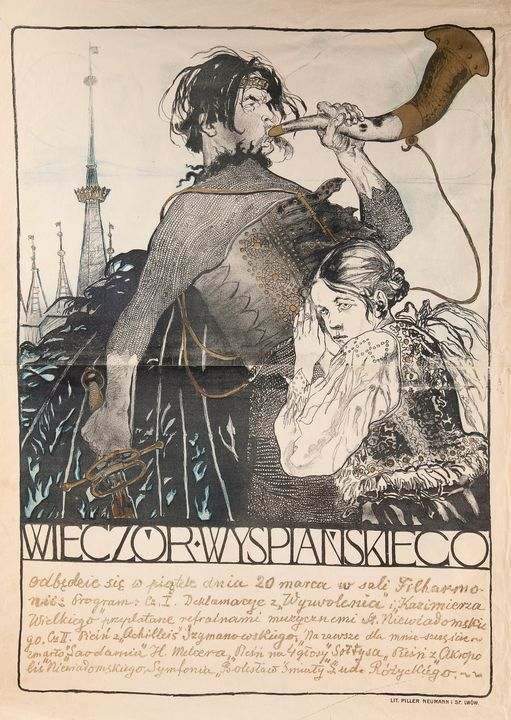 Kazimierz Sichulski~Wyspiański's Soi - Artmaster