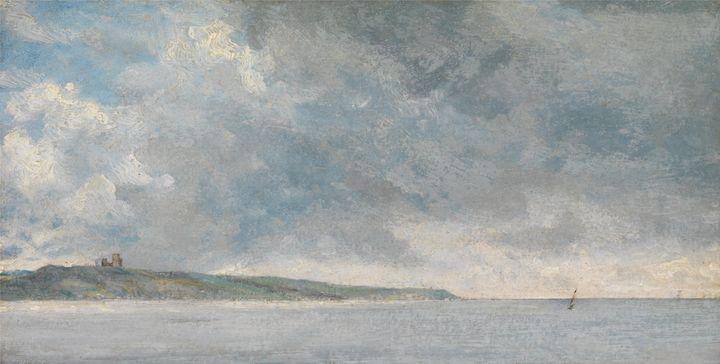 John Constable~Coastal Scene with Cl - Artmaster