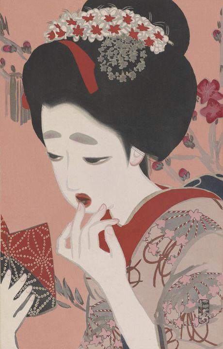 Kitano Tsunetomi~March Ukiyo-e Beaut - Artmaster