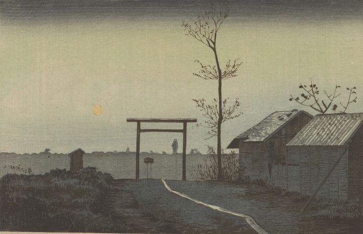 Kobayashi Kiyochika~Before Tarō Inar - Artmaster