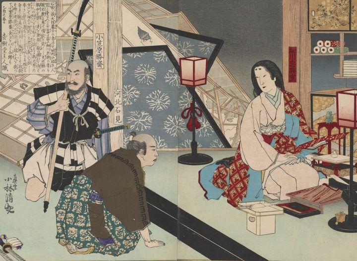 Kobayashi Kiyochika~Hosokawa Tadaoki - Artmaster