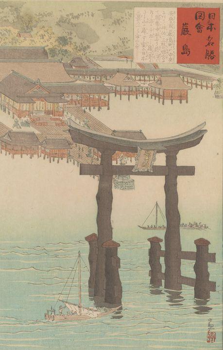 Kobayashi Kiyochika~Itsukushima shri - Artmaster
