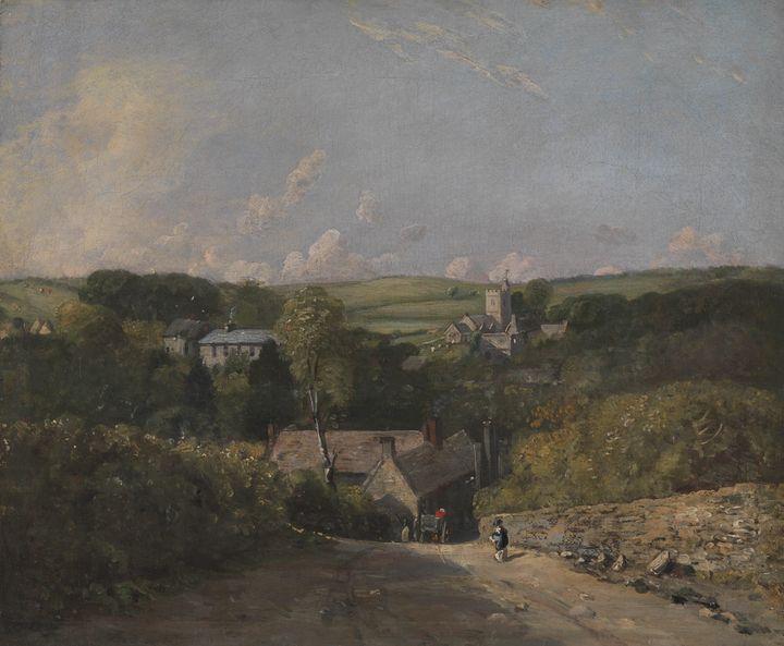 John Constable~Osmington Village - Artmaster