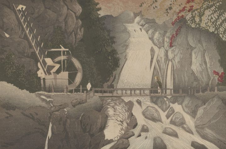 Kobayashi Kiyochika~Man'nen Bridge a - Artmaster