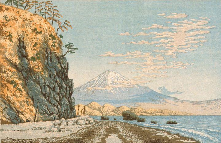 Kobayashi Kiyochika~Mt. Fuji from Sa - Artmaster