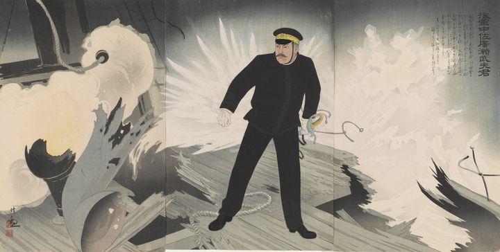 Kobayashi Kiyochika~Naval Commander - Artmaster