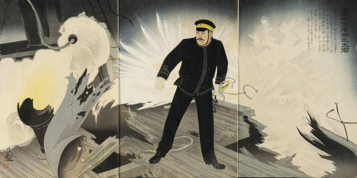 Kobayashi Kiyochika~The Heroic Comma - Artmaster