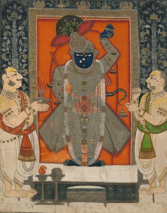 Kota school, Rajasthan, India~Priest - Artmaster