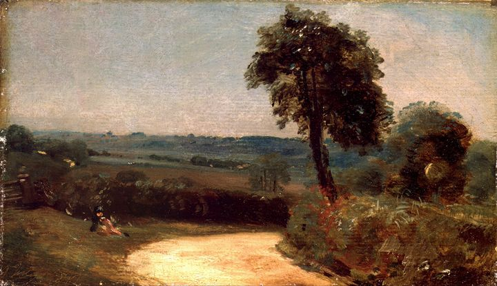 John Constable~The Lane from East Be - Artmaster