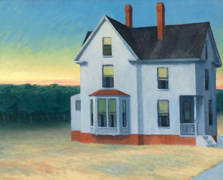 Edward Hopper~Cape Cod Sunset - Artmaster